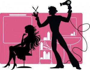 Рассмотрите парикмахерскую и мастера
