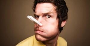 заложен нос - неприятное обстоятельство