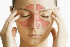 точечный массаж носа при насморке
