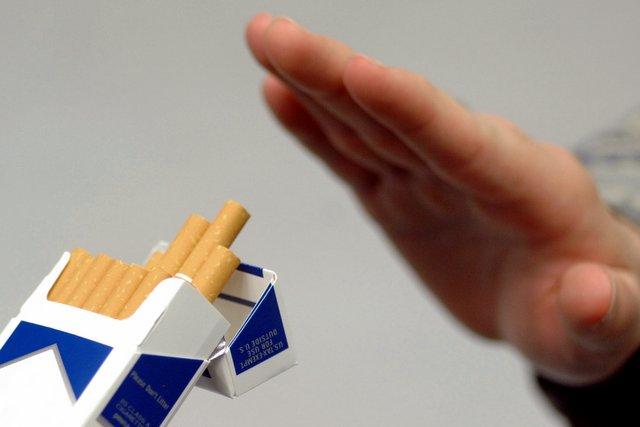 Бросил курить появилось удушье