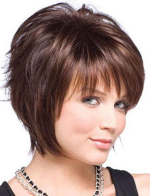 Причёски коротких густые волос