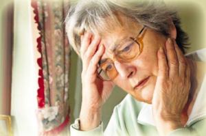 бредовые расстройства  у пожилых
