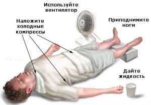 помощь при обмороке1