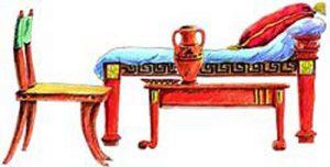 Кровать в Древней Греции