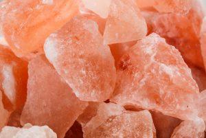 кристаллы розовой соли