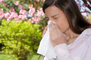 весная и аллергия
