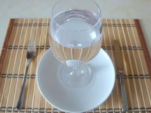 Вместо еды_только вода
