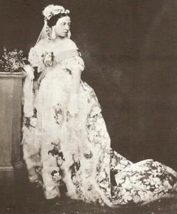 Королева Виктория в свадебный букет добавила веточки мирта