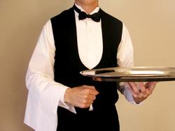 Внешний вид официанта должен быть безупречным