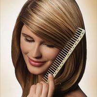 Правильная расческа помогает ухаживать за волосами