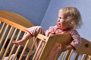 Часто дети дают бой родителям перед сном