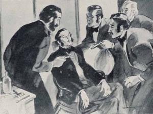 Горас Уэллс, стоматолог из Хартфорда