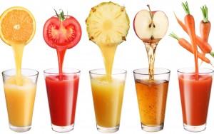 овощные и фруктовые соки
