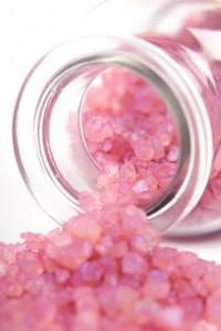 розовый сахар