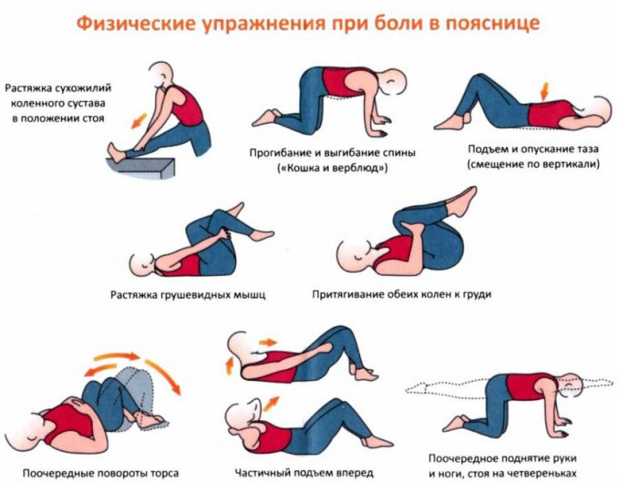 физ упражнения