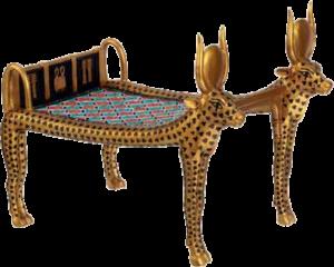 Кровать древнего Египта