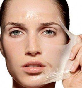 маска для лица с использованием желатина
