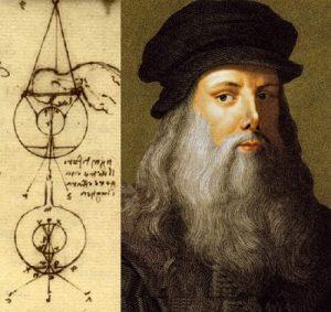 Леонардо да Винчи был первым изобретателем контактных линз
